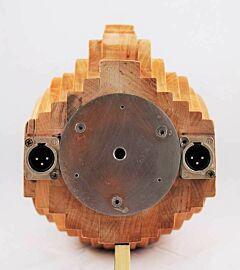 "132061 Soundman OKM-Kunsthoofd ""John Alder PPA"" Elzenhout + built-in PPA-adapter."