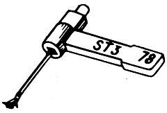 BSR ST3/ST4 LP+78rpm 050DS/SN stylus.