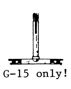 General Electric G15/VRII 122DS stylus.