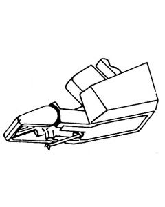 Garrard CSN66 1602OR original elliptical click-in MC-cartridge.